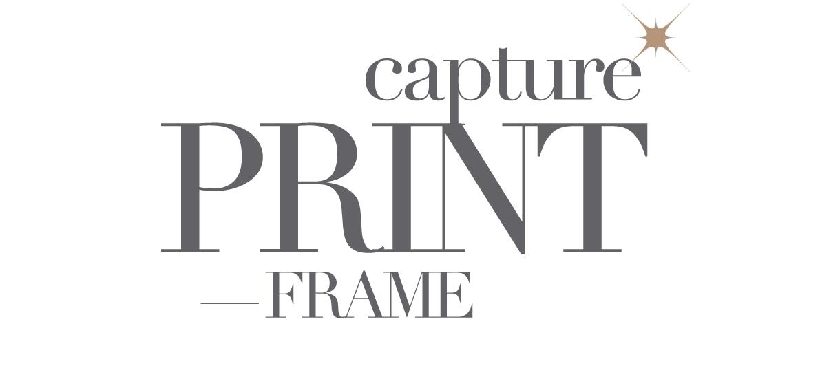 capture print frame