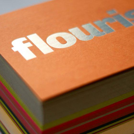 Pure Graphic Design foil block mailers